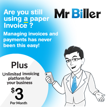 MrBiller Invoice Pricing $3 per month